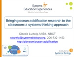 Bringing ocean acidification research to the classroom: A systems thinking approach