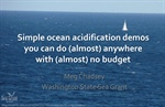 Simple ocean acidification demos you can do (almost) anywhere with (almost) no budget