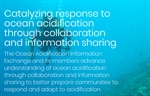 NEW online community catalyzing response to #oceanacidification through collaboration and information sharing