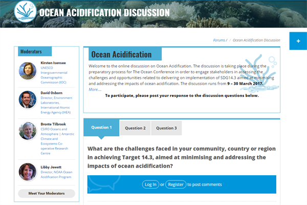 Ocean Acidification Discussion