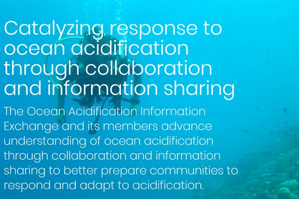 NEW online community catalyzing response to #oceanacidification through collaboration and...