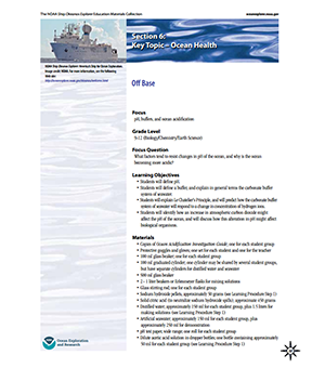 NOAA OCEAN EXPLORATION & RESEARCH: OFF BASE