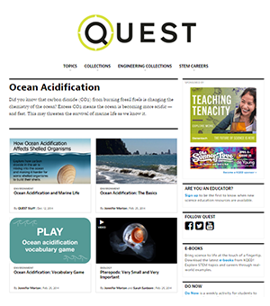 OCEAN ACIDIFICATION: The Science of Sustainability